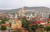 Nice view of Tbilisi, Georgia — Stock Photo