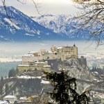 City and castle Hohensalzburg - Salzburg, Austria — Stock Photo #21285141