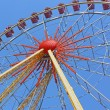 Largest ferris wheel in Ukraine. Odessa, Shevchenko Park — Stock Photo