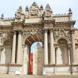 Stock Photo: Gate of Sultan, Dolmabahce Palace, Istanbul, Turkey
