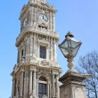 Clocktower of Dolmabahce Palace in Istanbul, Turkey — Zdjęcie stockowe #25005877