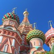 St. Basils cathedral on Red Square in Moscow, Russia — Stock Photo