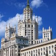 Stalin's Empire style building in Moscow — Stock Photo