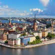 Panorama of Stockholm Old City, Sweden — Stock Photo