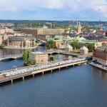 Panorama de stockholm, Suède — Photo