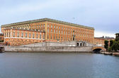 View of Stockholm's Royal Palace in Gamla Stan, Sweden — Стоковое фото