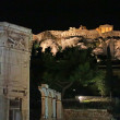 Parthenon construction in Acropolis Hill in Athens - North Slope, Greece — Stock Photo #31918445