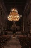 святого дмитрия солунского церковь интерьер, салоники, греция — Стоковое фото