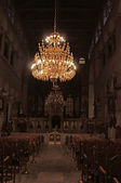 聖デメトリオス教会-インテリア、テッサロニキ、ギリシャ — ストック写真