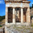ruins of the ancient city delphi, greece — Stock Photo