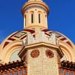 Parish Church of Sant Roma. Lloret de Mar, Costa Brava, Spain — Stock Photo