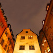 Old Town (Gamla Stan) in Stockholm at night — Stock Photo
