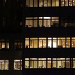 Windows of the multi-storey office building — Stock Photo