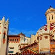 Stock Photo: Parish Church of Sant Roma. Lloret de Mar, CostBrava, Spain