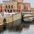 Stock Photo: Norrmalm borough, with famous Royal Swedish Opera, Stockholm, Sw