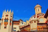 Pfarrkirche sant roma. lloret de mar, costa brava, spanien — Stockfoto