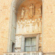 Balcony on Montserrat buildings in Spain — Stock Photo