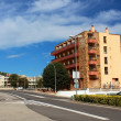 Road Lloret at european village Tossa de Mar, Costa Brava, Spain — Stock Photo #36037669