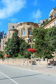 Santa Maria de Montserrat monastery. Catalonia, Spain. — Photo