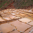 Saltworks in Maras, Cuzco, Peru — Stock Photo
