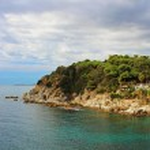 Waterfront of Lloret de Mar, Costa Brava, Spain — Stock Photo