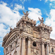 Old customs building constructed in 1902 locate in the Port of Barcelona, Spain — Stock Photo #44218077