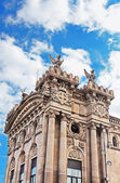 Old customs building constructed in 1902 locate in the Port of Barcelona, Spain — Stock Photo