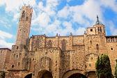 Medieval Tower of Santa Agata Chapel in Barcelona, Spain — Stock Photo
