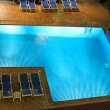 Swimming pool in night illumination — Stock Photo #45048667
