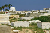 Arabic cemetery in Monastir, Tunisia — Stock Photo