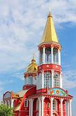 Belltower of church in Obolon district, Kyiv, Ukraine — Stockfoto
