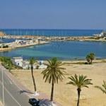 Quay in Monastir, Tunisia — Stock Photo #47159003