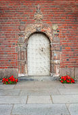 Door of the building of a City Hall, Stockholm, Sweden — Stock Photo