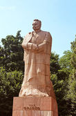 Monument of Ivan Franko (1856-1916), Ukrainian poet, writer, social and literary critic and journalis — Stock Photo
