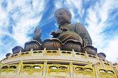 Гигантский Будда. Гонконг — Стоковое фото