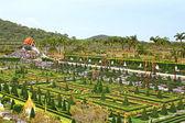 Nong Nooch tropical garden in Pattaya, Thailand — Stock Photo