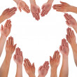 Hand heart — Stock Photo #12544561