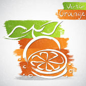 Orange — Stock Vector