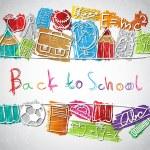 School symbols — Stock Vector #28599353