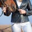 Horsewoman — Stock Photo #40243701