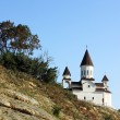 Stock Photo: Landscape with church
