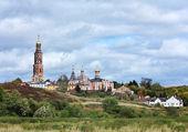 Orthodox monastery in Ryazan region — Stock Photo