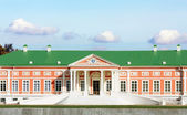 Facade of the palace of the XVIII century — Stock Photo