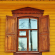 Window of an old house - Stock Photo