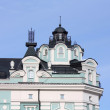 Turret on the top of building — Stock Photo