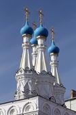 东正教教堂的圆顶 — 图库照片