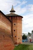Ancient constructions of Kolomna Kremlin — Stock Photo