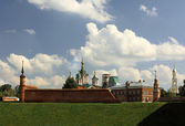 коломенский кремль — Стоковое фото