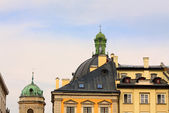 Domes of the old Lvov — Stock Photo