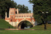 Figured bridge in Tsaritsyno — Stock Photo